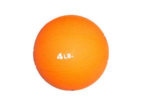 4lb. Rubber Medicine Ball (Orange)