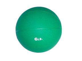 6lb Rubber Medicine Ball (Green)
