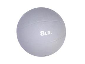 8lb. Rubber Medicine Ball (Gray)