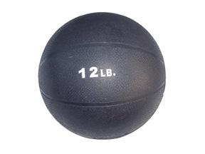 12lb. Rubber Medicine Ball (Purple)