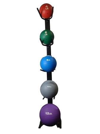Medicine Ball Set w/ Rack